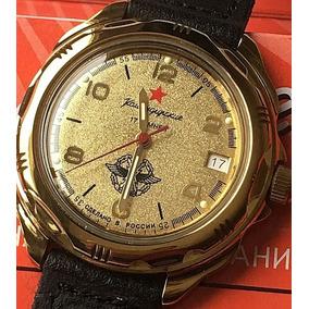 Relógio Militar Russo Vostok Komandirskie 219451 À Corda 30m