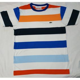 abfcee0ed38ab Camisas Masculinas Lacoste - Camisa Masculino Laranja no Mercado ...