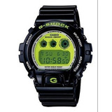 694d1905110 Relogio Casio G-shock Dw-6900cs-1ds Black Green Dw-6900