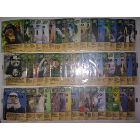 Elma Chips Tazos Coleção Completa 55 Cards Fandangos Eco 2
