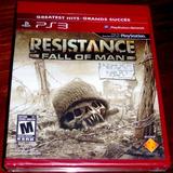 Videojuego Resistance Fall Of Man Ps3 Físico Nuevo Sellado