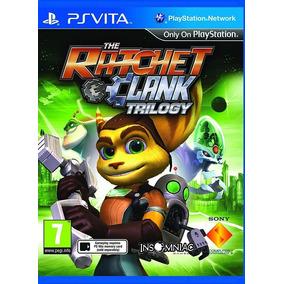 The Ratchet & Clank Trilogy Psvita - Novo E Lacrado Só Aqui!