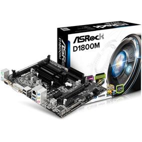 Combo Intel Dual Core J1800 + Asrock D1800m 2gb Ram