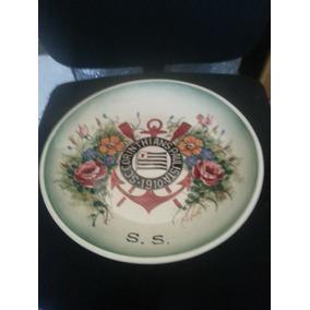 Prato Ou Tigela Decorativo Do Seu Time Favorito Corinthians. R  150 de0b91d6d39ce