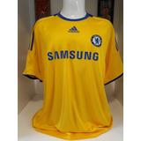 Camisa Chelsea Amarela Original Adidas no Mercado Livre Brasil 3407227556cde