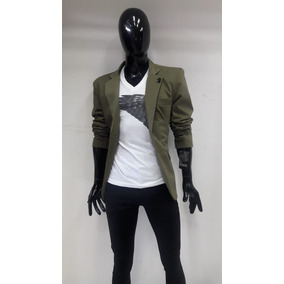 Saco Para Hombre Color Verde