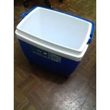 Caixa Térmica Azul Mor 26l 35 Latas De 350ml