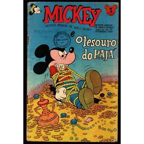 Revista Mickey Walt Disney N. 27 1954 Ed. Abril