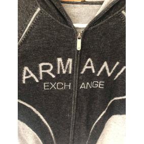 Armani Exchange Suéter Sudadera Ax Sweater Con Gorro Origina