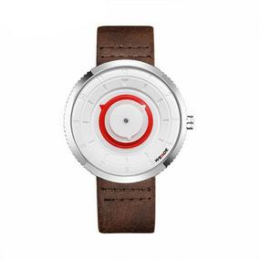 Relógio Masculino Weide Analógico Wd006 Preto prata b5fc33abd3444