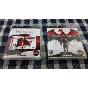 Lote Dragon Age Origins Ultimate Edition E Dragon Age Ii Ps3