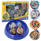 Set 4 Beyblade + Stadium