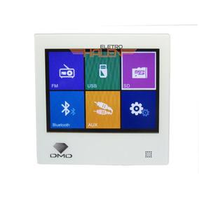 Amplificador De Parede Dmd Para Som Ambiente - Touchscreen