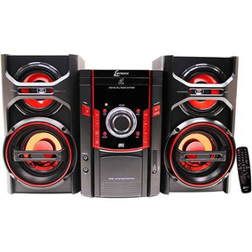 Micro System Fm/cd/mp3/usb/aux. 50w Rms Preto Lenoxx Ms844