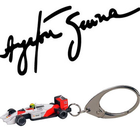 Chaveiro Mclaren Ayrton Senna 3d