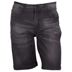 Bermuda Hang Loose Jeans Pockets - Preto