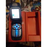 Nextel I765 Blue Azul Reciclado En Caja Orange Con Holder