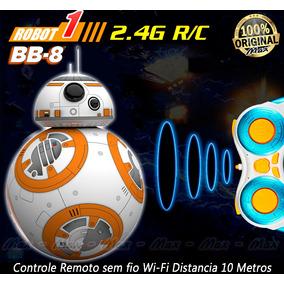 Robô Droid Sphero Bb8 Star Wars Emite Som Controle Remoto