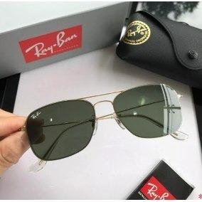 0a552e0465d1c Oculos Verde Militar De Sol Ray Ban - Óculos no Mercado Livre Brasil