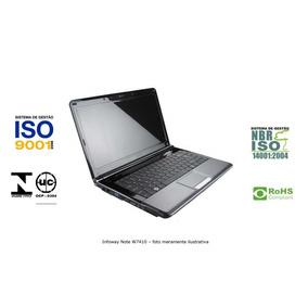 Notebook Itautec Infoway W7410 (sem Hd)