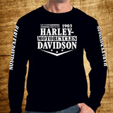 Camiseta Harley Davidson Usa - Edição Premium - Moto Harley