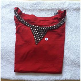 Blusinha Blusa Camisa Feminina Pedraria Moda
