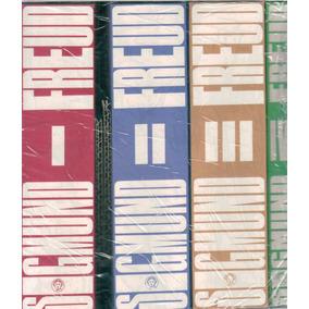 Sigmund Freud Obras Completas . 4 Tomos En Caja De Cartón