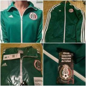 Chamarra Adidas Mexico Verde en Mercado Libre México 7c3cbd043f161