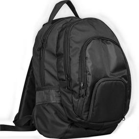 Morral Universitario / Bolso Porta Laptop Negro Ecg-002b