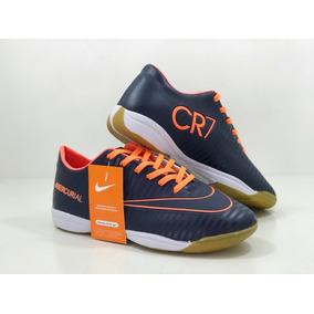 7fdf14429e Chuteira Cristiano Ronaldo Tamanho 35 Futsal Nike - Chuteiras no ...