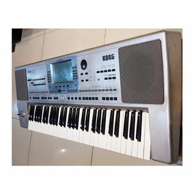 Teclado Arranjador Korg Pa50 Disket - Usado Loja X5music