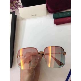 a5b12e51b6ee9 Oculos Rosa Gucci De Sol - Óculos no Mercado Livre Brasil