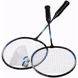 cbbed9c73c 2 Raquetes Raquete Jogo Badminton 2 Petecas 1 Bolsa Veja - Esportes ...
