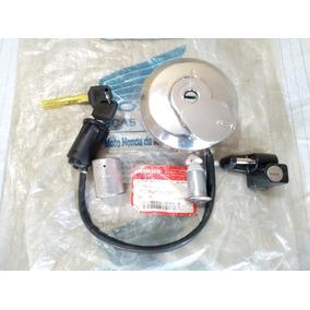 Kit Chave Ignição Trava Original Honda Titan 2000 A 2001