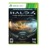 Halo 4 Game Of The Year Para Xbox 360 Nuevo