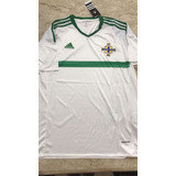 Camisa adidas Irlanda Do Norte 2016 Eurocopa Pronta Entrega 8837dfd42c638