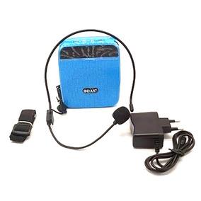 Amplificador Voz Megafone Microfone Palestra Professor 81284