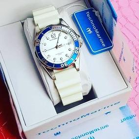 Reloj Technomarine Color Blanco Original Nuevo