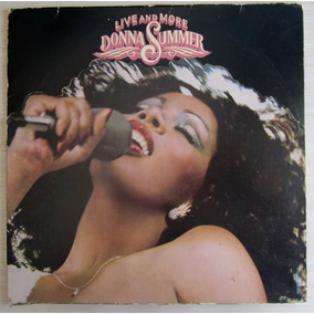 Lp Donna Summer Live And More Duplo Com 2 Encartes