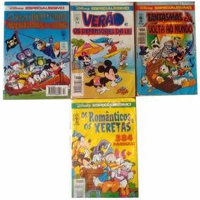 Gibis Antigos Kit 4 Disney Especialíssimo - Raridades