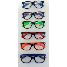 93162777d Armação De Oculos Infantil Preta E Vermelha - Óculos Amarelo no ...