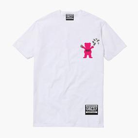 0c6e5ba99 Camiseta Grizzly Rosa Tamanho Xg - Camisetas Manga Curta para Masculino no  Mercado Livre Brasil