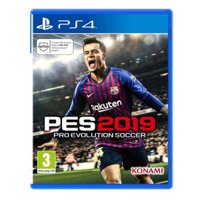 Pro Evolution Soccer 2019 - Pes 2019 - Pes 19 Ps4
