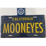 Moon Placa Decorativa California Azul