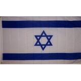 Bandera Israel Medidas 90x60cm Estrella David Mf-35