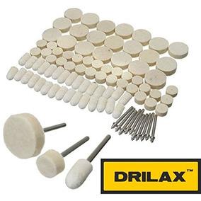 Drilax 88 Piezas De Lana De Fieltro Pulido Pulido Encerado P 08267223988