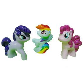 My Little Pony Jgo 3 Figuras Cerámica Pintadas A Mano Oferta