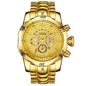 Relógio Masculino Original Luxo Temeite Big Dial Promoção