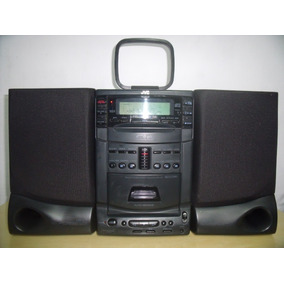Vintage Raro Micro System Jvc Ux-c7 Anos 90 Toca 6 Cds