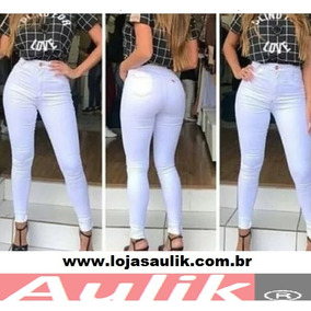 Calça Jeans Feminina Branca - Cigarrete - Bivik - Atacado fa4c51d9a86